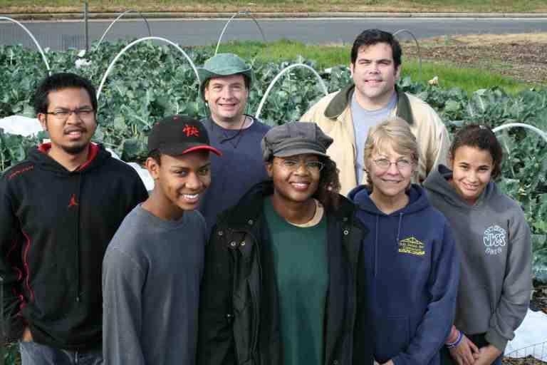 Our final CKG volunteer group for 2012. From left: Nack Pring, Devan Fishburne, Michael Gunlicks, Felicia Fishburne, John Jamieson, Jean Stephens, Faith Tyler.