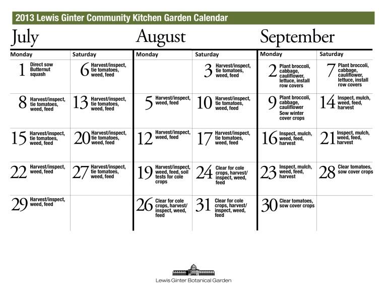 CKG Calendar 2013 2