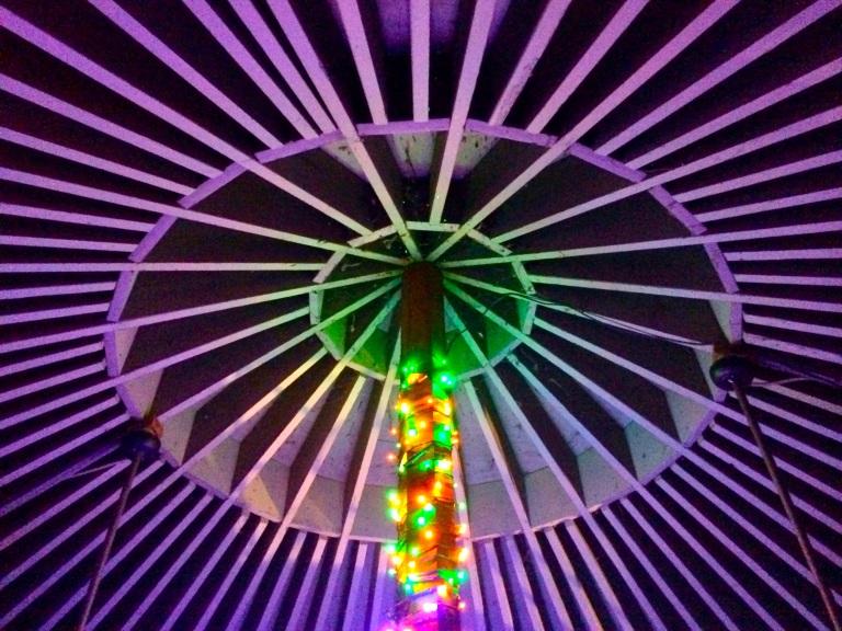 Pinwheel Ceiling (Treehouse)