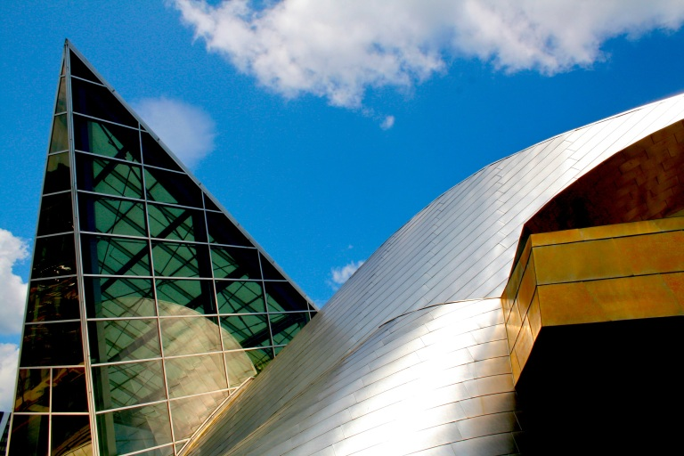The Taubman Museum of Art, designed by Randall Stout.