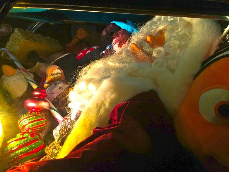 Santa Napping