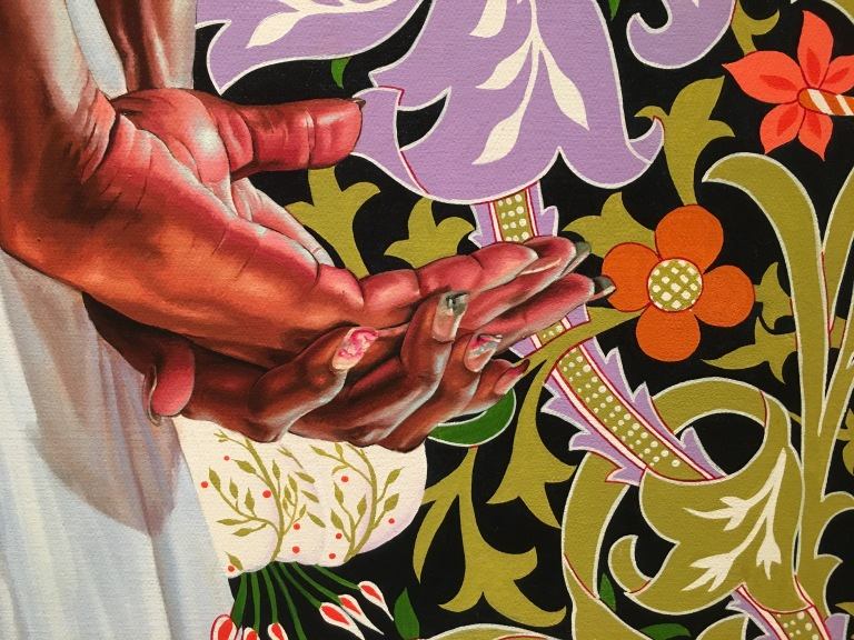 Detail: Kehinde Wiley